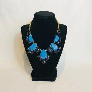 Kate Spade Navy & Light Blue Statement Necklace #6